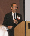 Bob speaking at the 1998 IADRS Conference